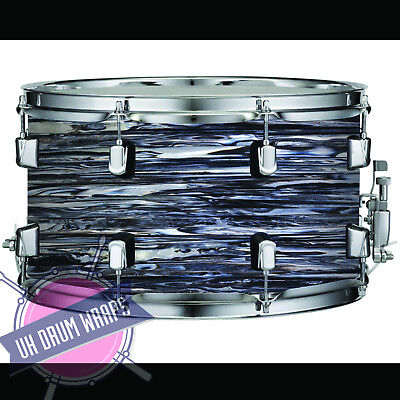Custom Oyster Pearl Drum Wrap All Sizes Plastic !