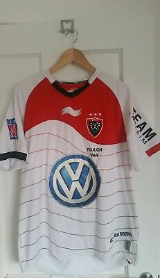 Toulon rugby jersey 2013/2014 - Extra Large - postage tbc