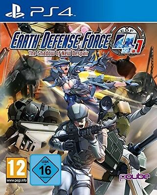 Ps4 Earth Defense Force 4.1 The Shadow of New Despair NIP