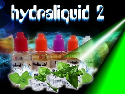 5 x 30 ml e liquide 58 aromes  hydraliquid ,menthe , fruits,tabac,  Red Master .