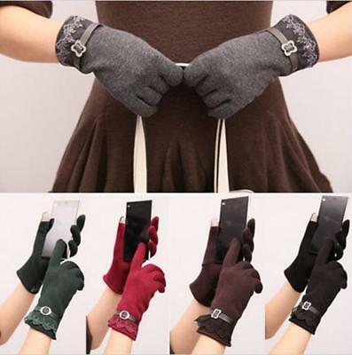 Knit Elegant TouchScreen Gloves Soft Winter Women Texting Active For SmartPhone