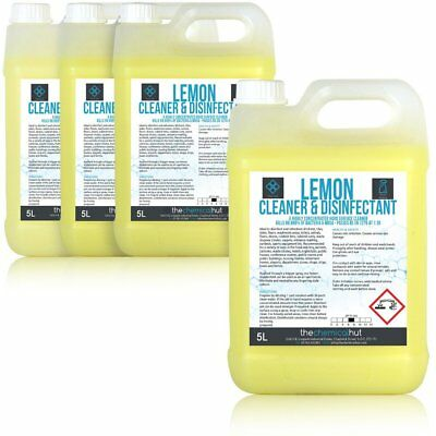 20L of The Chemical Hut Professional Lemon Fragrance Hard Surface Anti Bacterial