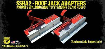 Standing Seam Roof Anchor SSRA2 Roof Jack Adapter - Lifetime Warranty