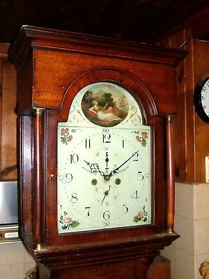 A Georgian 8 day duration Antique Longcase Grandfather Clock C1810
