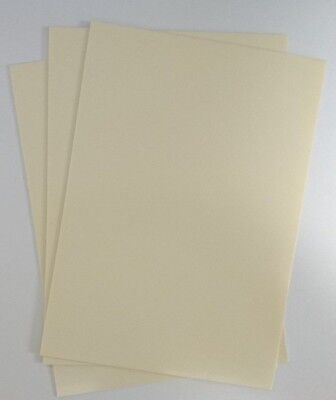 Gloss Ivory/Cream Plasticard 1.5mm 60 thou Sheet A4 High Impact Polystyrene