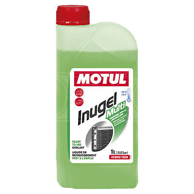Motul Inugel Multi -25°C Antifreeze / Coolant - Ready to use - 1 Litre 1L