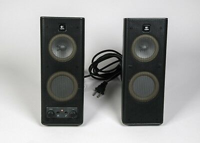 Logitech Computer Speakers / S-0264A / High End 2.1 System / Full Sound