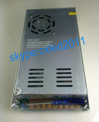 NEW AC100-120V / 200-240V to DC30V 15A Output Regulated Switching Power Supply