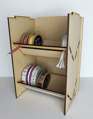 Ribbon Tape Washi Storage Stand Display Kit - upto 10cm rolls- Double Single