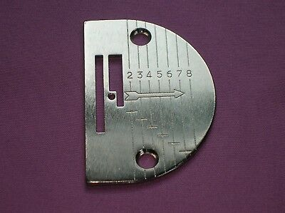 Singer Sewing Machine Needle Plate Fits 201-2, 1200-1, 15-88, 15-90 & 15-9