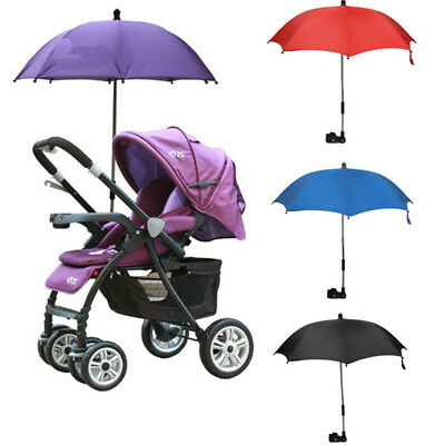 EG_ BABY STROLLER ACCESSORY UMBRELLA KIDS SUNSHADE PARASOL FOLDING FOR PRAM Raki