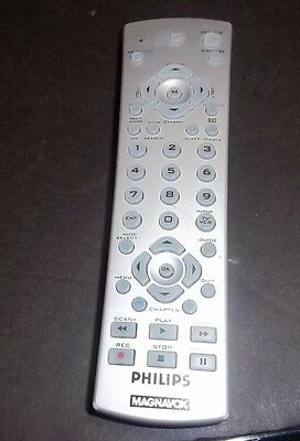 philips magnavox remote cl015 universal remote tv vcr dvd tested rh picclick com Philips Universal Remote Control Codes List Philips Universal Remote Programming Guide