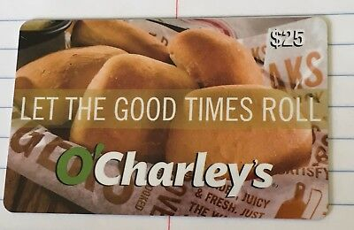 $20 for a $25 O'CHARLEY'S Restaurant & Bar Gift Card