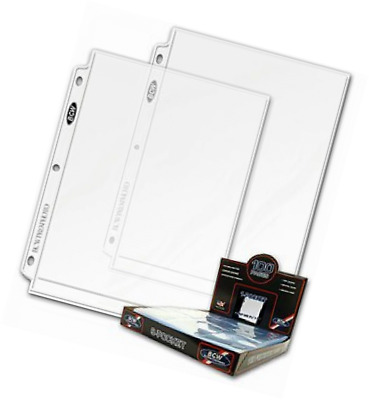 20 (Twenty Pages) - BCW Pro 8 X 10 Photo Page (1 Pocket Page)