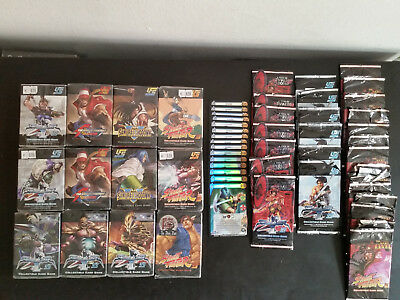 UFS Ultimate Fighting System ccg 12 Starter Decks 30 opened boosters Promos