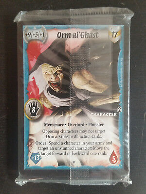 Warlord ccg Promo Pack Orm al' Ghast Overlord Promo Deck SEALED