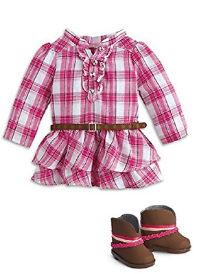 American Girl Truly Me Western Plaid Outfit New in Box