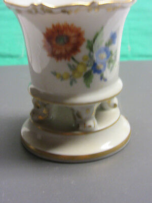 Meissen fine china Sunflower  Urn  hand painted new perfect condition Germany
