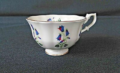 Vintage SHELLEY Fine Bone China TEA CUP  Floral BLUEBELL Teacup Only