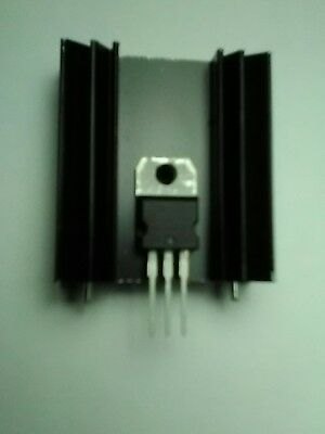 38x34x12mm stackable aluminum heatsink, Transistor Mosfet FET IC TO-220 TO-247