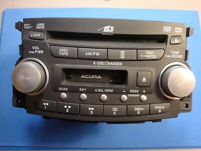 REPAIR ONLY ACURA TL CL Radio Stereo Disc Changer CD Player - Acura tl radio