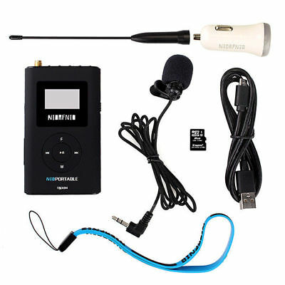 Hot 0.6W Portable FM Transmitter MP3 Broadcast Radio for Meeting/Tour Guide