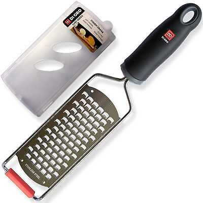 di Oro Living Cheese Grater - 18/8 Stainless Steel Blade, Ergonomic Handle