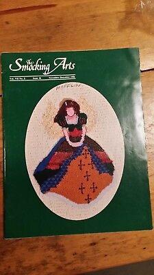The Smocking Arts Nov/Dec 1986 Magazine Pattern Free Shipping