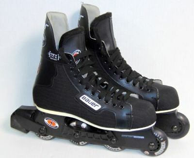 Bauer Hockey Roller Blades - Size 8 Mens/ 9 Womens