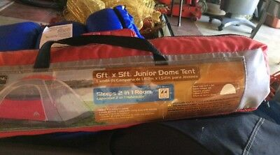 OZARK TRAIL Junior DOME Tent 6FT. X 5FT. SLEEPS 2 IN 1 Room