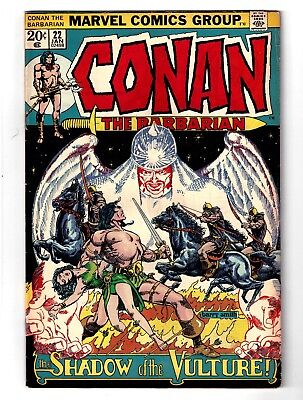 Conan the Barbarian #22 (Jan 1973, Marvel) Barry Smith cover   VG (4.0)