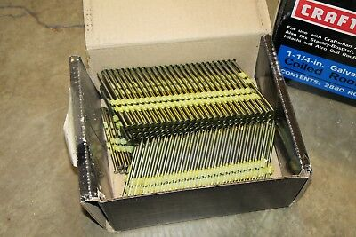 "Craftsman Framing Nails, 2-3/8"" + 3-1/4"" for Framing Nailers"