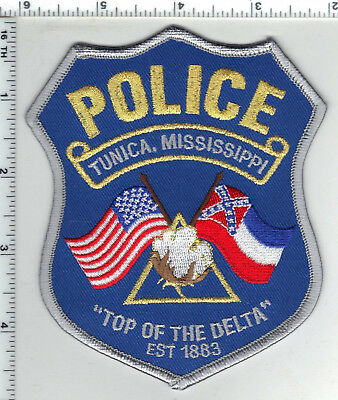 Tunica Police (Mississippi) Shoulder Patch from the 1980's