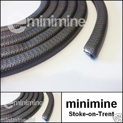 Classic Mini Rubber Sill Trim Moulding Finisher Black 140cm PER SIDE edging x1