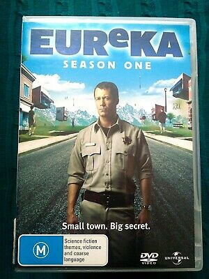 Eureka : Season 1 (DVD, 3-Disc Set) REGION-4, LIKE NEW, FREE POST IN AUSTRALIA