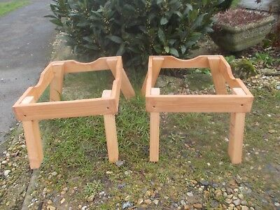 2 X national bee hive stands