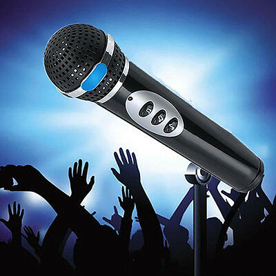 Eg_ Kids Microphone Mic Karaoke Singing Funny Gift Music Toy For Children Wondro