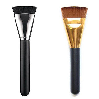 EG_ Pro Powder Blush Face Cheek Foundation Flat Contour Brush Cosmetic Tools Nov