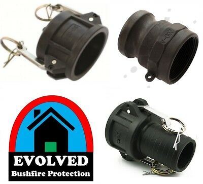 "Camlock | 2"" inch BSP Hosetail Set 