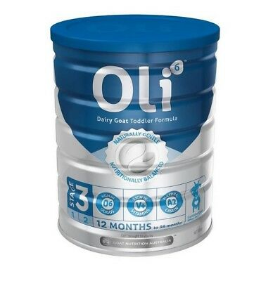 800g Oli6 Goat - Stage 3 Dairy Goat Toddler Formula 12-36 months - Made in AUS