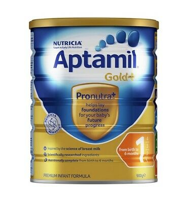GREAT 900g Aptamil Gold+ 1 Infant Formula 0-6 Months Stage 1 Ship from Australia