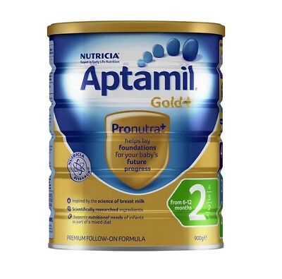 AWESOME BABY MILK 900g Aptamil Gold+ 2 Follow-On Formula 6-12 Months Stage 2