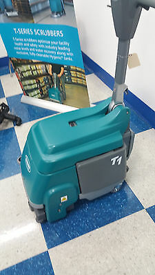 0 hour Display Model Tennant T1 Corded Walk Behind Floor Scrubber