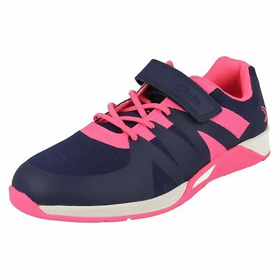 Girls Cica by Clarks Casual Machine Washable Trainers Trace Star