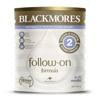 900g Blackmores Follow On Formula from 6 - 12 months Stage 2 Australian Made