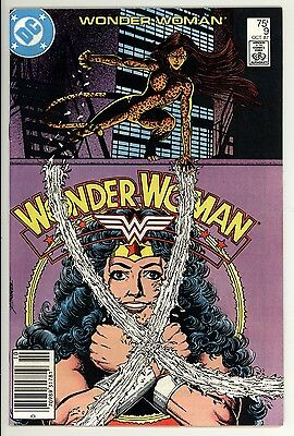Wonder Woman 9 - Newsstand - Chetah - High Grade 9.2 NM-