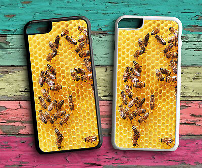 Bee Keeping Honey Bees Hard Phone Case For Iphone 4 4S 5 5S SE 6 6S 7 8 X PLUS