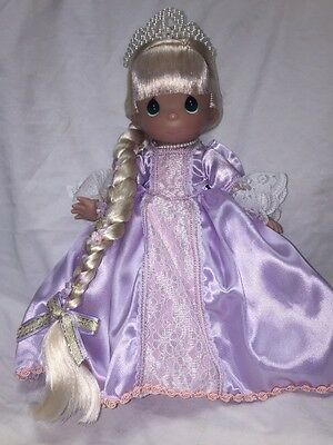 "Disney Princess Timeless Rapunzel Doll - Precious Moments 12"" Vinyl Doll"