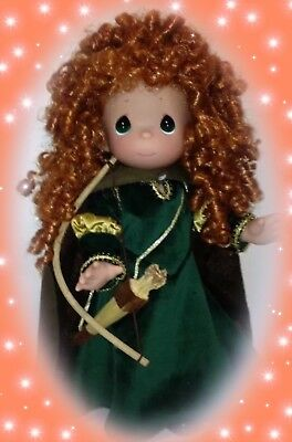 "Disney Princess Doll Brave Merida - Precious Moments 12"" Vinyl Doll"
