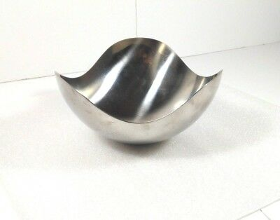 Georg Jensen Denmark Bloom collection small bowl polished finish stainless steel